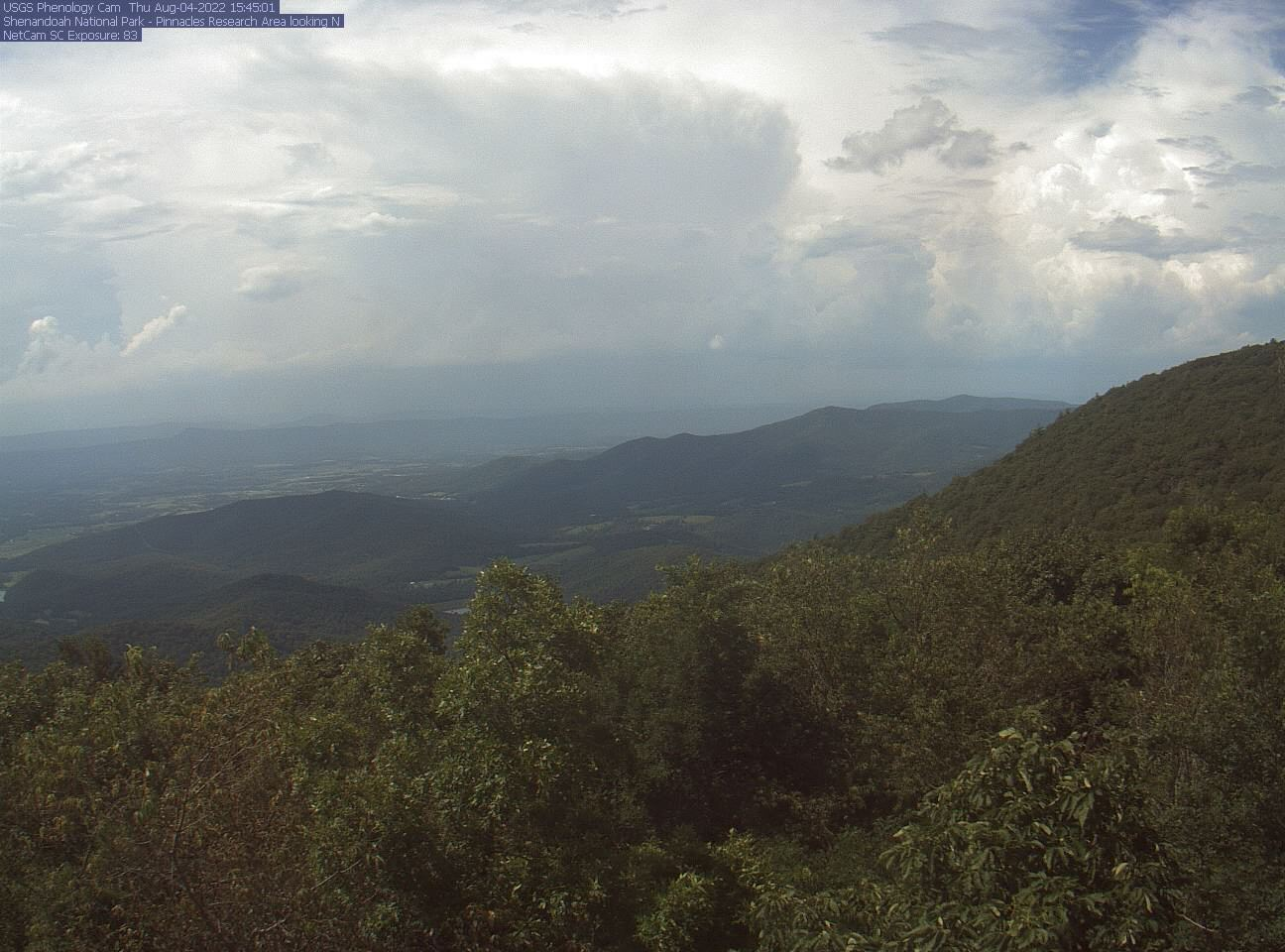Shenandoah National Park Webcam