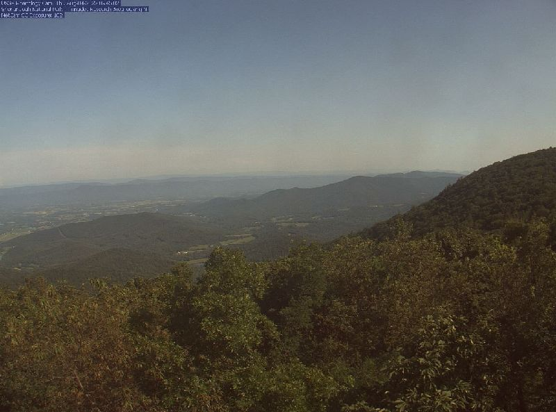 Shenandoah National Park Webcam Image