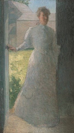 Julian Alden Weir. Silhouette. Private Collection.