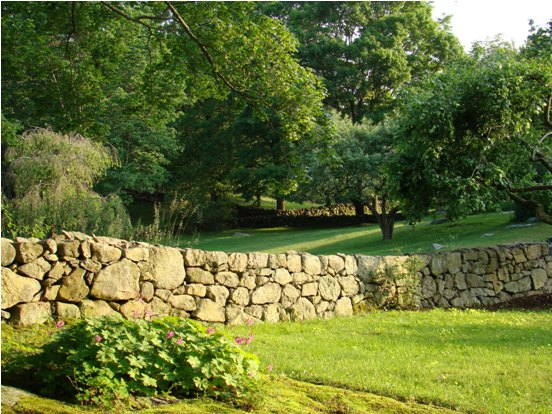 Stone Walls Criss-Cross Weir Farm National Historic Site's Cultural Landscape