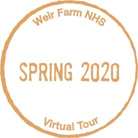 Virtual National Parks Passport Cancellation Stamp - Weir Farm Spring 2020