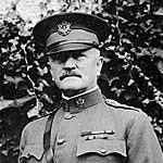 General John J. Pershing, 1918 (Photo: Records of the Office of the Chief Signal Officer, RG 111, Still Picture Branch, National Archives and Records Administration)