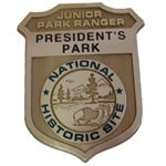 President's Park Junior Ranger Badge