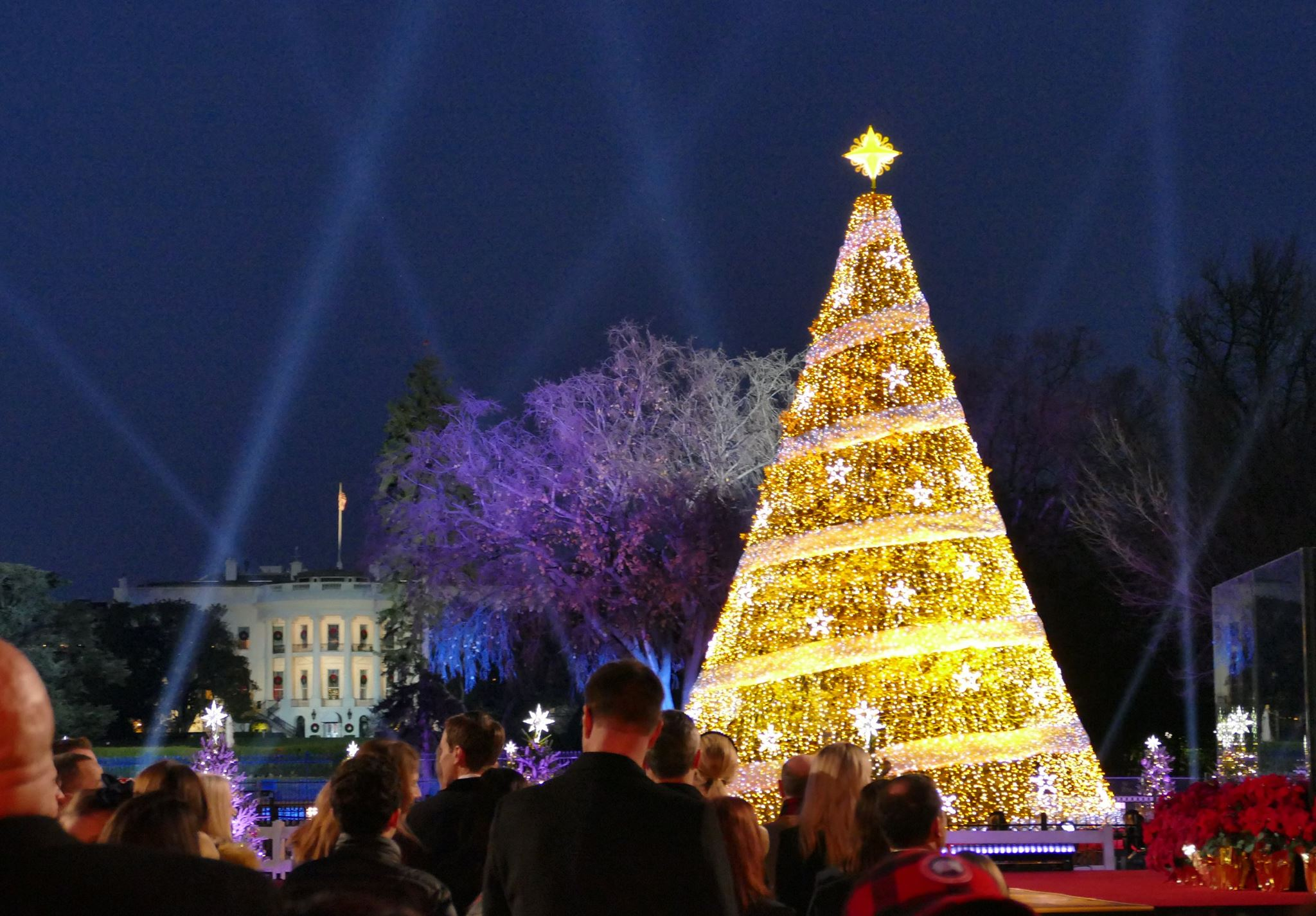 National Christmas Tree Lighting.Celebrate Holiday Traditions At The 2018 National Christmas