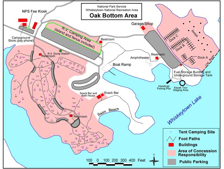 oak bottom campground whiskeytown reservations