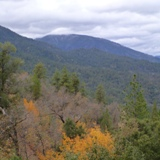 Whiskeytown's beautiful forested mountains