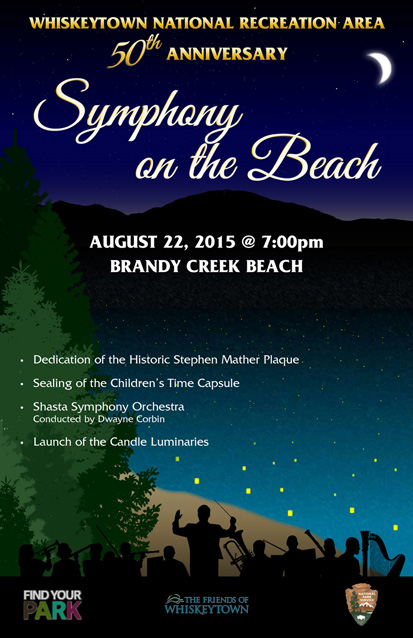 Symphony on the Beach Poster