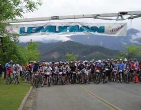 Start of Lemurian Bike Race