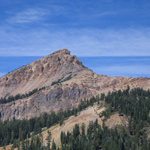 Brokeoff Mountain at Lassen Volcanic National Park