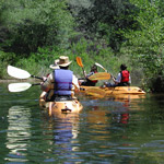 Kayakers on Ranger Guided Tour