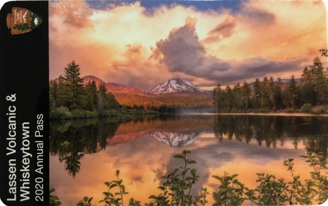 2020 Whiskeytown/Lassen Volcanic Annual Pass