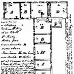 floor plan of the main mission house