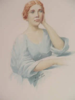 Painting of Narcissa Whitman