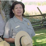 female ranger with Hispanic heritage