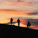 group_on_dune_sunset_hp_highpoint