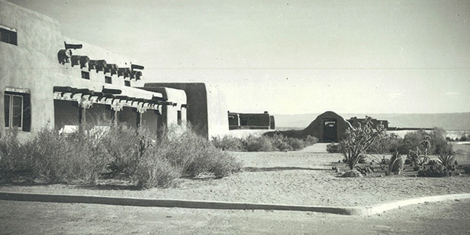 1941 image of visitor center