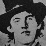 Black and White image of Billy the Kid.