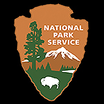 National Park Service Arrowhead Logo.