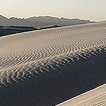 Dunes and sand ripples.