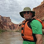 Volunteer on the Grand Canyon.