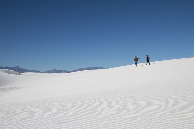 Alkali Flat Trail at White Sands NM