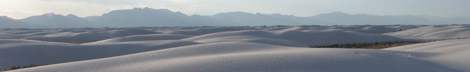 The dunes in soft light