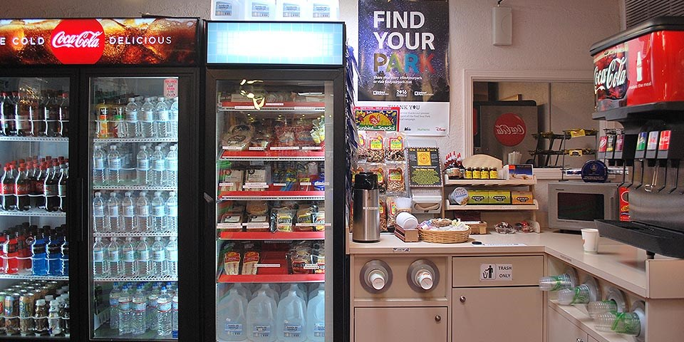 Grab and Go Food in gift shop