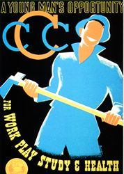 1930s CCC Poster