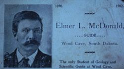 Elmer McDonald Business Card
