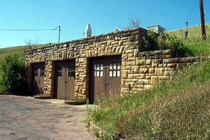 Historic Structure Used as a Garage