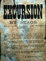 Wind Cave Excursion by Stage Poster