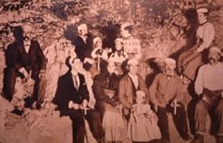 William Jennings Bryan is the man in the middle of the photo with a child on his lap. Katie Stabler is on the high left. John Stabler is the lower left.