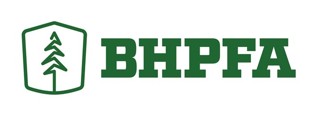 BHPFA Logo showing a pine tree and initials