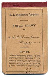A.P. Chambers' Field Diary