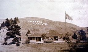 First Visitor Center at Wind Cave National Park