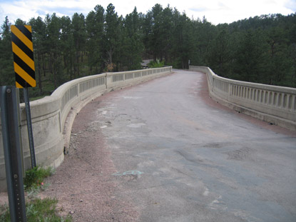 Highway 87 will be closed for four weeks this September while the surface of the Beaver Creek Bridge is replaced.