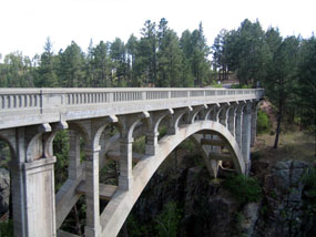 Highway 87 could be closed for eight weeks next fall as repairs are made to the Beaver Creek Bridge.