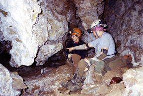 Cavers in Wind Cave