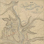 Map of the Battle of Wilson's Creek