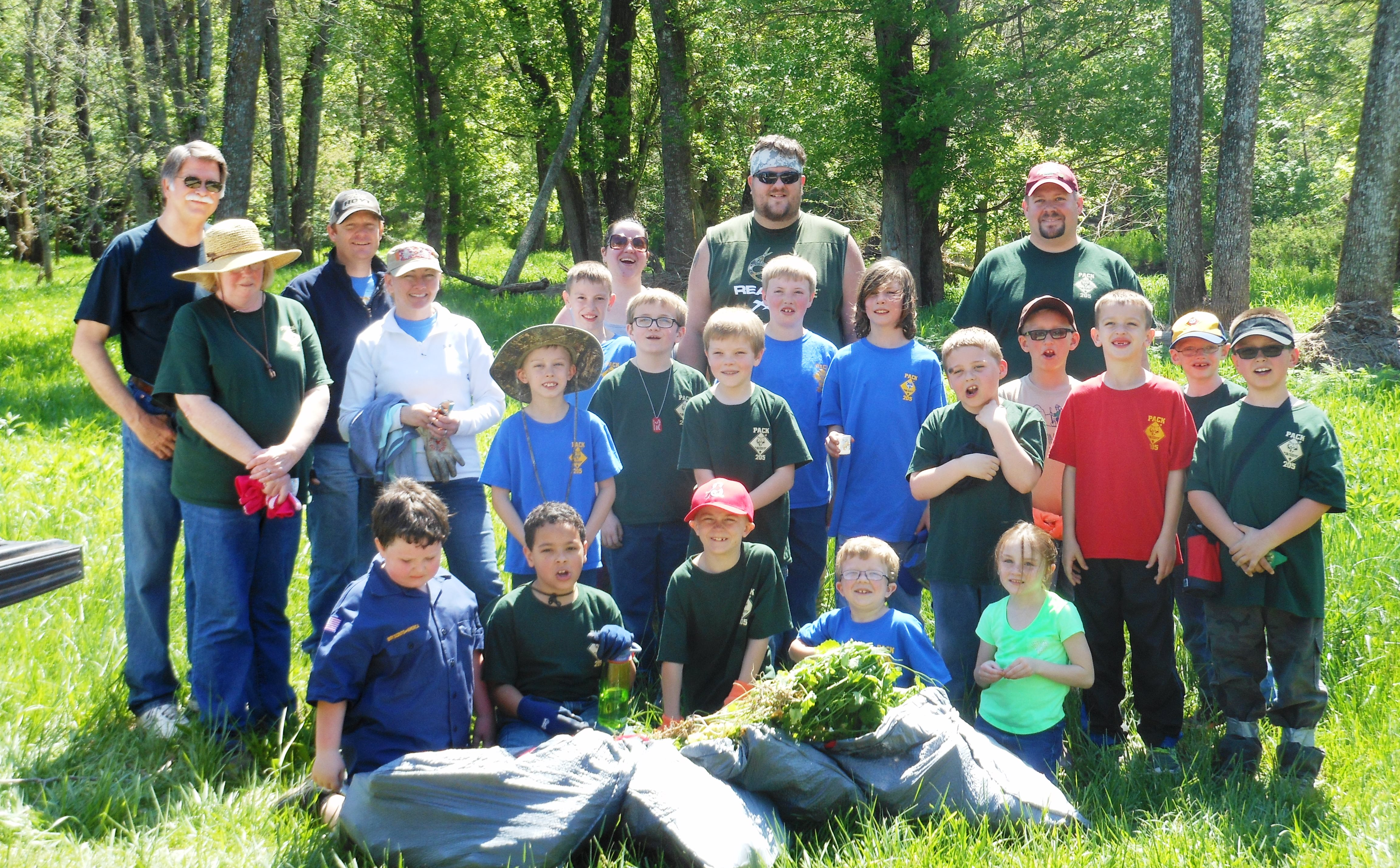 "Garlic Mustard ""Pull"" Volunteers"