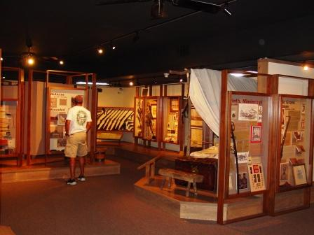 Civil War Museum exhibits