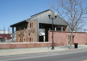 Wesleyan Chapel before rehabilitation began.