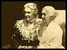 Ann Fitzhugh Miller on left and Elizabeth Smith Miller on right.