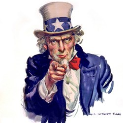 uncle sam pointing at the viewer