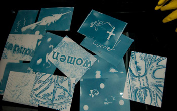 Postcards from a workshop with Flueckiger.