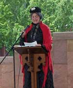 Barbara Blaisdell as Susan B. Anthony