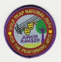 Wolf Trap's Junior Ranger Patch