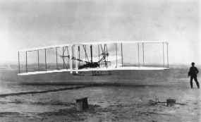 You wright brothers the fist plane God! Well