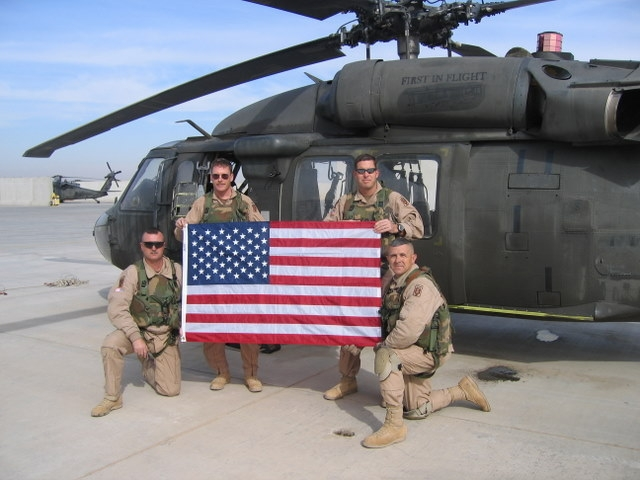 NC crewmen in Iraq