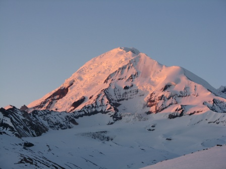 Alpenglow on Mt Drum